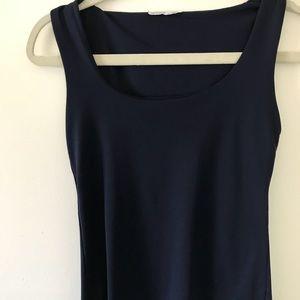 Zara W & B Collection Sz S Scuba Shelf Bra Top